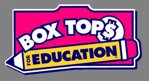 Earn Money for Chamberlin School - Box Tops for Education