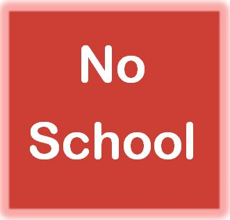 No school Thursday, Oct. 18th  &  Friday, Oct. 19th
