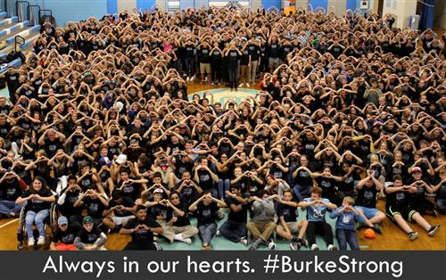 Always in our hearts Burke Strong