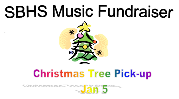 SBHS Music Holiday Tree Pickup